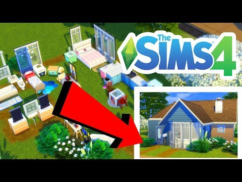 BACKWARDS BUILD CHALLENGE! The Sims 4