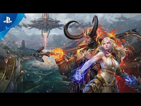 Skyforge - Announcement Trailer | PS4