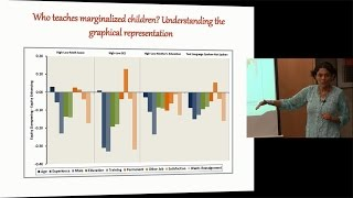 Who teaches marginalized children, and what may explain these teacher distribution patterns?
