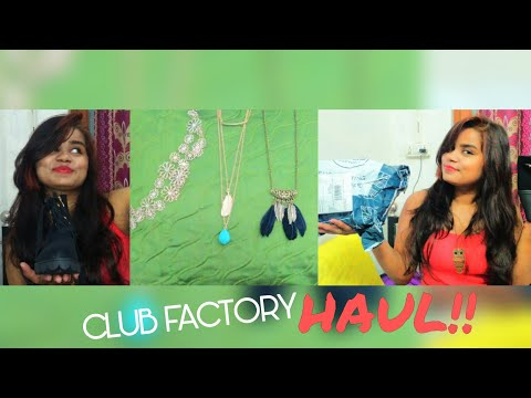 Club factory Haul/low price 😘😘😘👌