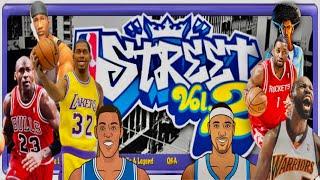 NBA Street, Vol. 2 PS2 Gameplay: Old School Ballers vs. NBA Stars