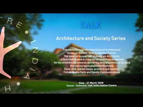 27 March 2019 - TALK - Architecture and Society Series