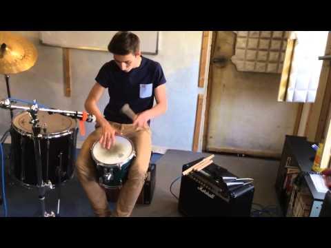 Cajon Samba Batucada Looper-Performance Philipp Lehle