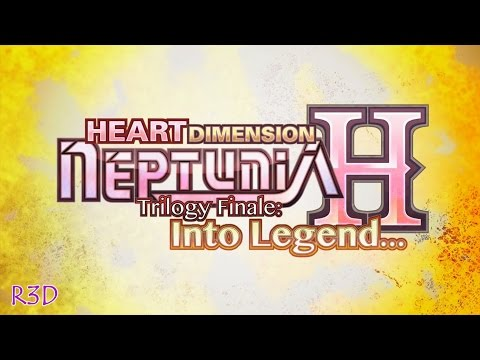 "♥Heart Dimension Neptunia H: Trilogy Finale: ""Into Legends❣"" Opening Cutscenes {English, Full HD}"