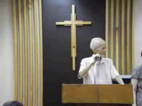 Rev. John C. E. Pan @ United Evangelical Church of the Philippines, November 10, 2013