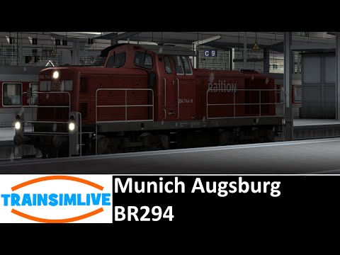 Train Simulator 2015 - Munich Augsburg, BR294
