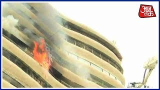 Fire Breaks Out In A Residential Building In Mumbai's Parel | Breaking News