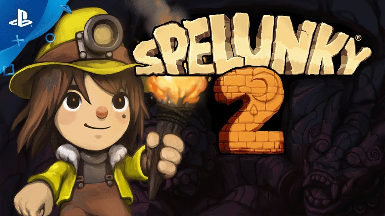spelunky 2 gameplay trailer ps4 youtube