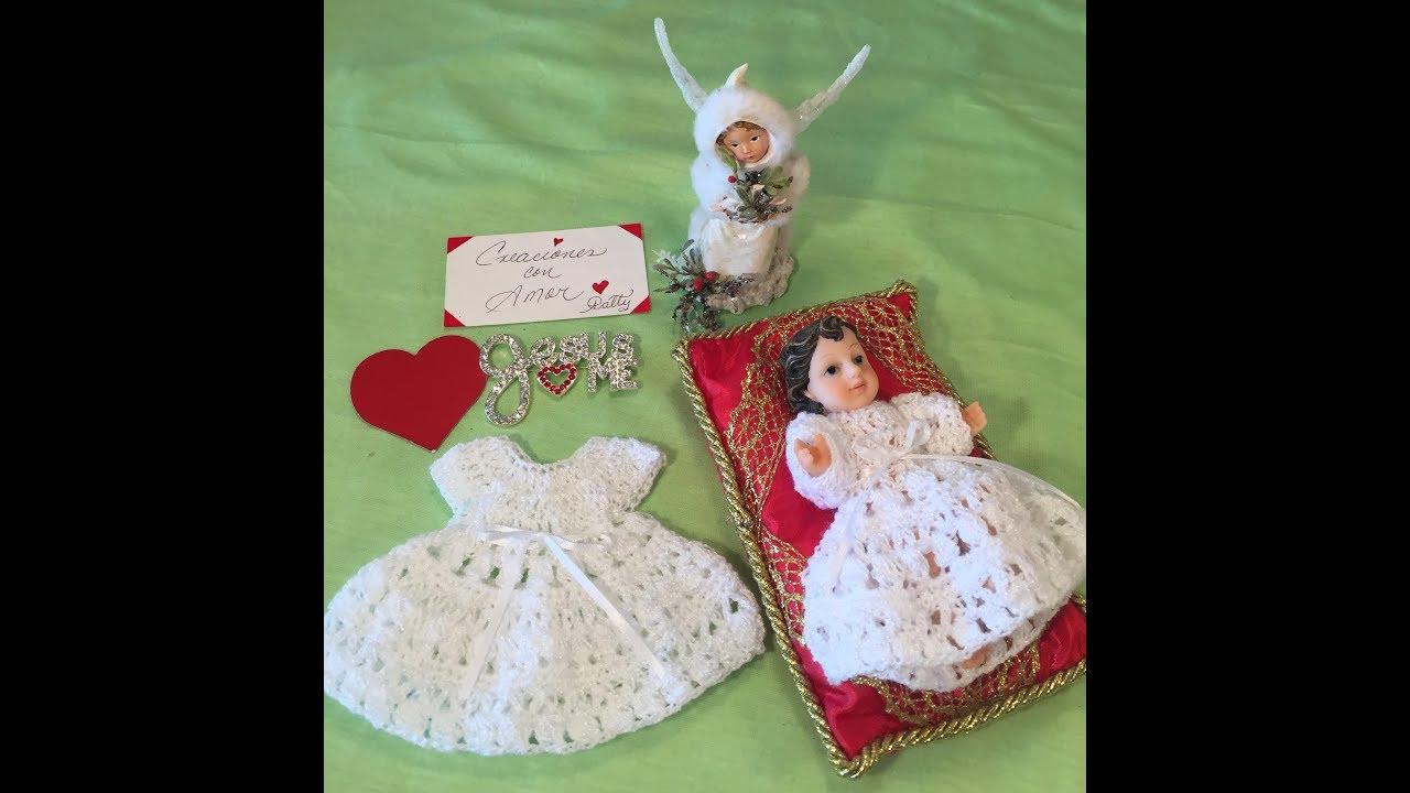 Ropon Para Nino Dios Tejido A Crochet