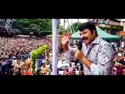 വടകരയെ ഇളക്കിമറിച്ചു മമ്മൂട്ടി | Mammootty At Vadakara | Abrahaminte Santhathikal | Viral Video