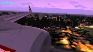 Swiss Air 737-800 + Misty Geneva