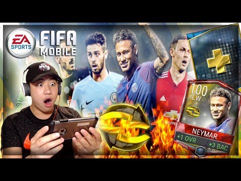 FIFA MOBILE 100 OVR NEYMAR!! TOP TRANSFERS BUNDLE OPENING!! *NEW CONTENT*
