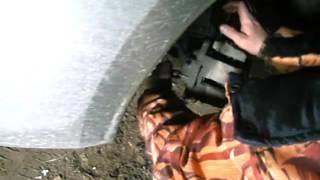 Замена тормозного диска на Гранте