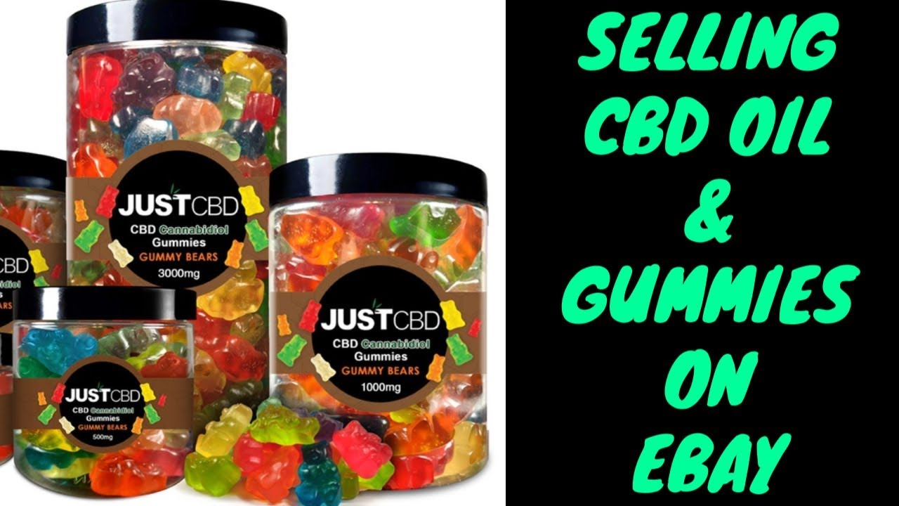Selling CBD Products & Oil on Ebay