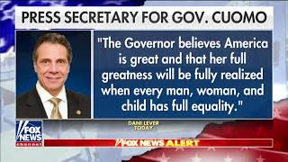 New York Gov. Andrew Cuomo: America 'was never that great'