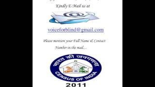 Census 2011 in Hindi (By Anita Sharma)