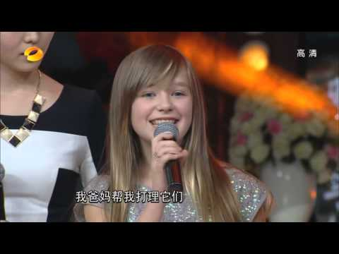 "Connie Talbot on Chinese TV show ""Day Day Up"" {2013}"