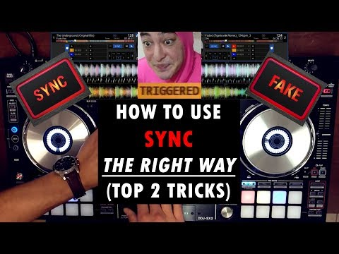 How to Use SYNC The Right Way | Top 2 Tricks on Serato DJ