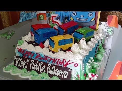 Kue Ulang Tahun Tayo 🎂 Tiup Lilin Dan Potong Kue Ulang Tahun 🎁 Happy Birthday