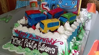 Gambar cover Kue Ulang Tahun Tayo 🎂 Tiup Lilin dan Potong Kue Ulang Tahun 🎁 Happy Birthday