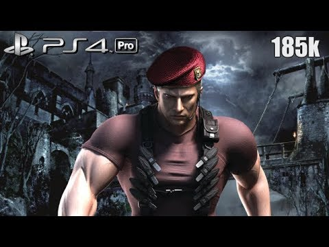 Resident Evil 4 Ps4 Pro Mercenaries Castle 185k Krauser 60fps