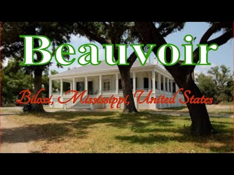 Visit Beauvoir, Biloxi, Mississippi, United States