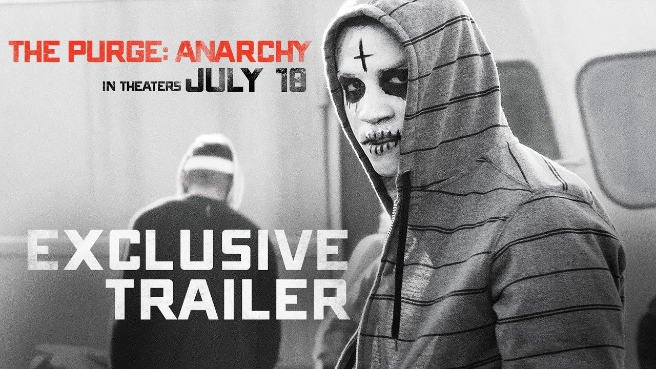 Girl Mask Wallpaper The Purge Anarchy Final Trailer Youtube