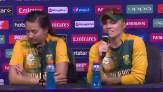 WOMEN'S : SOUTH AFRICA V IRELAND -  ICC World T20 Post-Match Press Conference
