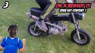 ON À RÉPARÉ LE DAX DE JEAN MI #3 - DAX LIFAN 125cc  !!!
