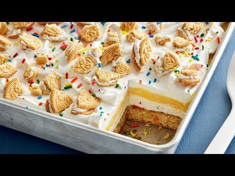 Birthday Cake Lush Betty Crocker Recipe YouTube