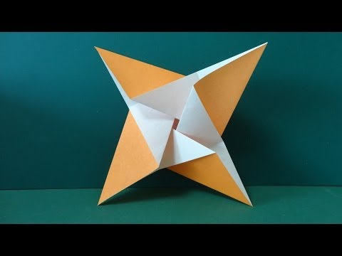 簡単 折り紙 折り紙 かざぐるま : youtube.com