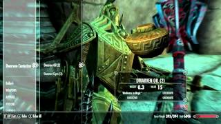 121. Let's Play Skyrim (The Elder Scrolls V Orc Gameplay) - The Alftand Cathedral
