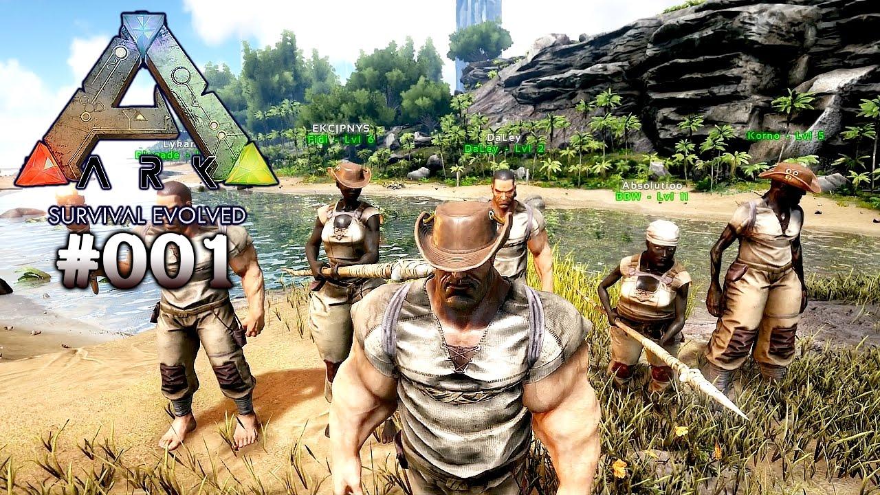 ARK: SURVIVAL EVOLVED ★ #001 - Das Abenteuer beginnt ...