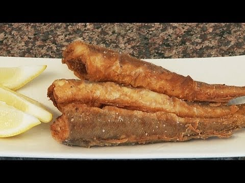 Fried Whiting (Merluzzi)