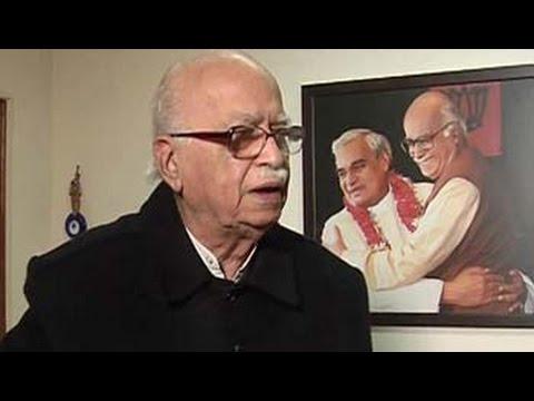 Atal Bihari Vajpayee's record blemish-free, deserves Bharat Ratna: LK Advani to NDTV