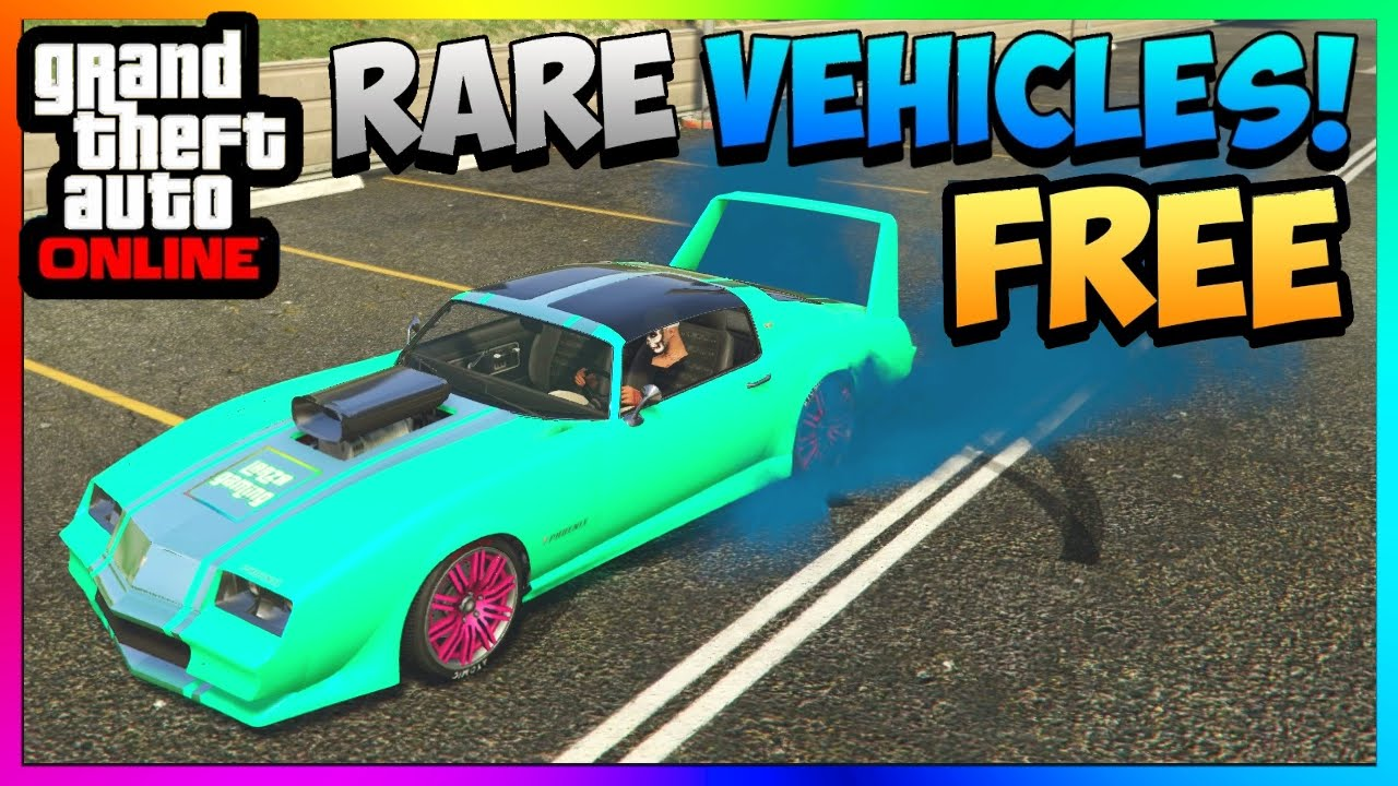 Gta 5 online store rare cars for free new phoenix spawn location ps3 ps4 xbox pc 1 38 1 27 youtube
