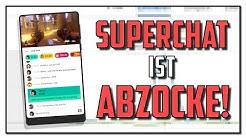 Benutzt NICHT den SUPERCHAT auf YOUTUBE! | Sharx