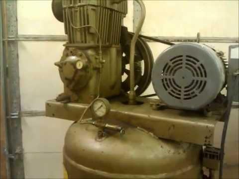 quincy-qr-325-compressor--set-up-and-test-run