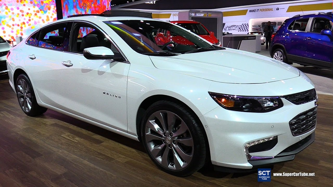 2017 Chevrolet Malibu 2 0t Premier Exterior And Interior Walkaround 2016 La Auto Show You