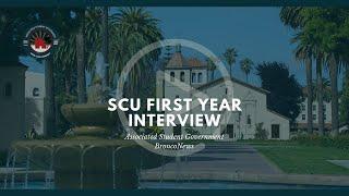 Santa Clara University First-Year Experience Interview