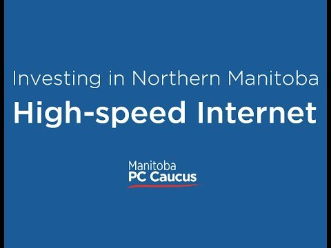 Announcing a major investment in high-speed internet for rural and remote communities