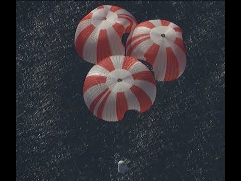 SpaceX Conducts Dragon Parachute Test