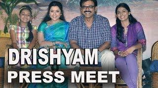 Drishyam Movie Full Length Press Meet - Venkatesh, Meena