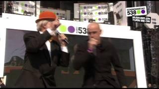 538 Koninginnedag 2011: Vader Abraham & De Mosselman