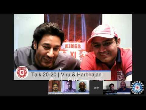 #KXIPHangout Talk 20-20 with Virender Sehwag & Harbhajan Mann