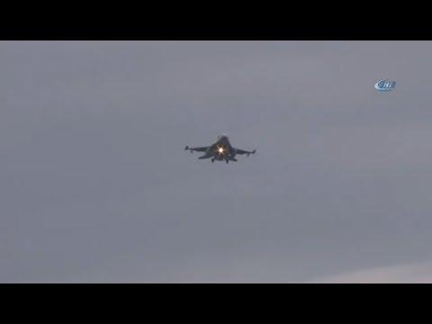 İncirlik'te Savaş Uçağı Hareketliliği