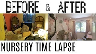 BEFORE & AFTER NURSERY TIME LAPSE