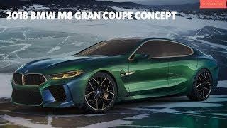 2018 BMW M8 Gran Coupe Concept  - Interior and Exterior - Phi Hoang Channel