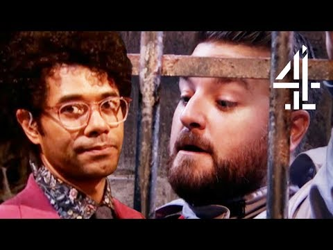 Richard Ayoade Is Unimpressed By The Celebs' Riddle Skills | The Crystal Maze: Celebrity Special