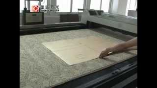 Sofa Fabric Laser Cutting Machine For Upholstery Furniture Textile